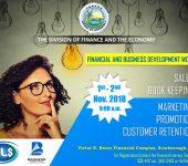 Financial and Business Development Workshop
