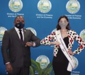 Courtesy Call with Miss World Trinidad and Tobago 2021