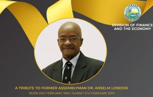 Tribute to Former Assemblyman Dr. Anselm London